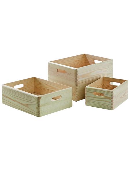 KESPER Allzweckkiste » 8,4 l mit Deckel«, BxHxL: 20 x 15 x 30 cm, Holz