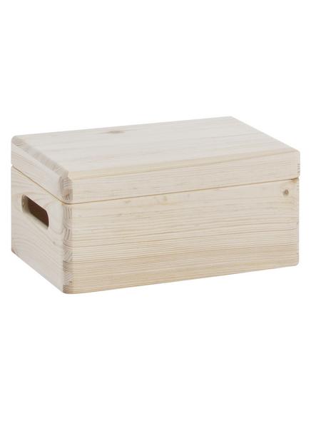 ZELLER Allzweckkiste, BxHxL: 20 x 14 x 30 cm, Holz