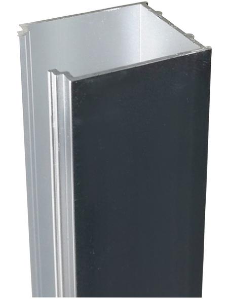 SANOTECHNIK Alu Verbreiterungsprofil für Dusche, Sanoflex, 3 cm