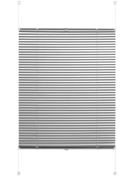 Aluminium-Jalousie, Easy Move, Silber, 100x130 cm