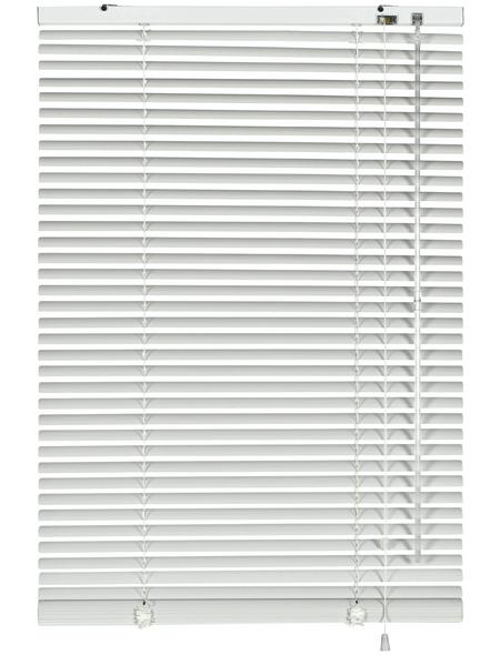 Aluminium-Jalousie, Weiß, 80x240 cm