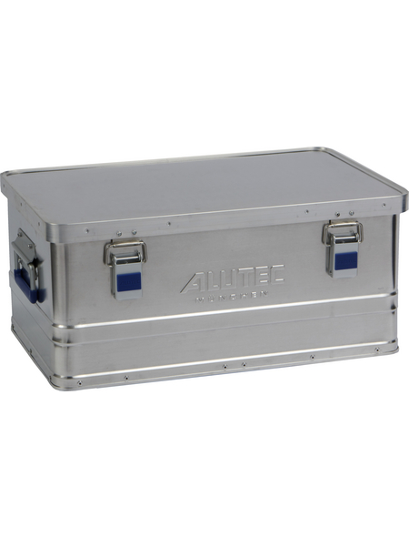 ALUTEC Aluminiumbox »BASIC 40«, BxHxL: 37 x 24,5 x 56 cm, Aluminium