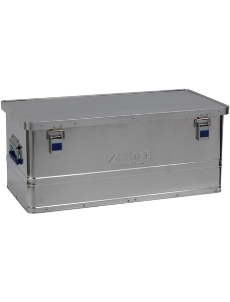 ALUTEC Aluminiumbox »BASIC 80«, BxHxL: 38,5 x 32,5 x 77,5 cm, Aluminium