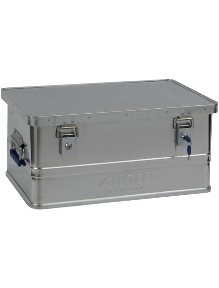 ALUTEC Aluminiumbox »CLASSIC«, BxHxL: 38,5 x 27,0 x 57,5 cm, Aluminium