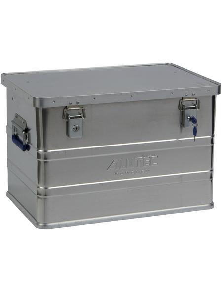 ALUTEC Aluminiumbox »CLASSIC«, BxHxL: 38,5 x 37,5 x 57,5 cm, Aluminium