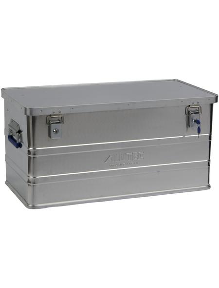 ALUTEC Aluminiumbox »CLASSIC«, BxHxL: 38,5 x 37,5 x 77,5 cm, Aluminium