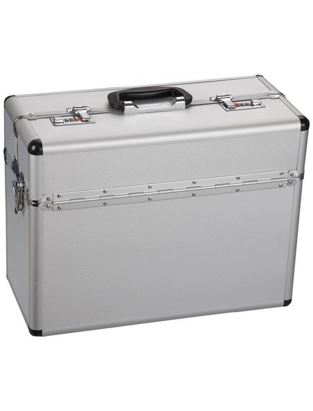 ALUTEC Aluminiumrahmenkoffer, BxHxL: 36 x 22,0 x 46 cm, Kunststoff