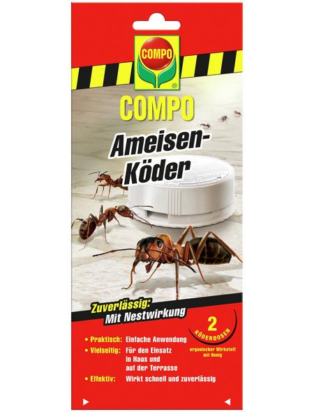 COMPO Ameisenköder, Kunststoff, 2 Stk.