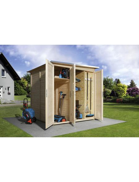 WEKA Anbauraum »Garten (Q) Modul Save Bike«, BxT: 224 x 71 cm (Aufstellmaße)