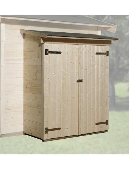 WEKA Anbauschrank für Gartenhäuser, Holz