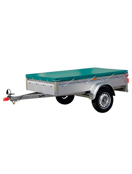 STEMA Anhänger-Flachplane, Länge: 160 cm, Kunststoff (PVC)