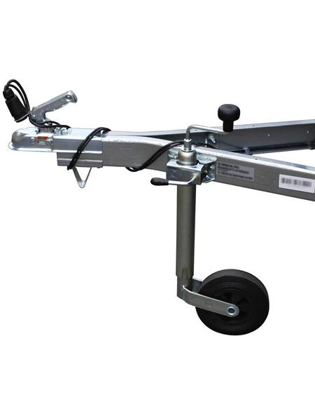 STEMA Anhänger-Stützrad, HxL: 9 x 61 cm, Stahl