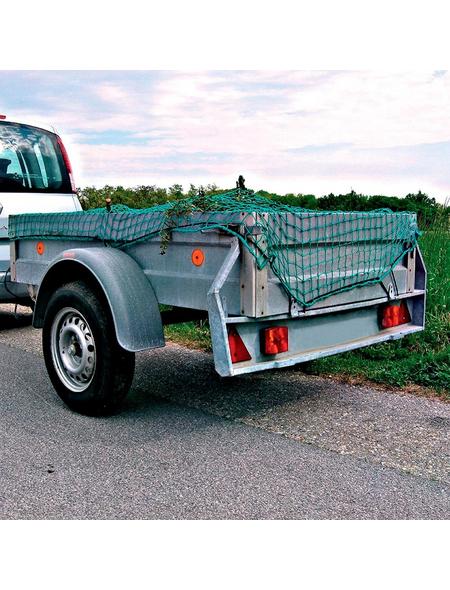 CONNEX Anhängernetz, 2,5 m, Maschenweite: 45 x 45, Kordelstärke: 6 mm
