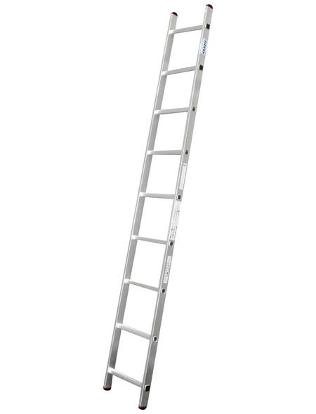 KRAUSE Anlegeleiter »CORDA«, Anzahl Sprossen 9