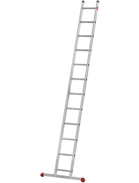 HAILO Anlegeleiter »ProfiStep uno«, Anzahl Sprossen: 12, Aluminium