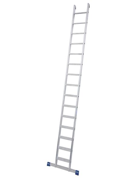 KRAUSE Anlegeleiter »STABILO«, Anzahl Sprossen 15