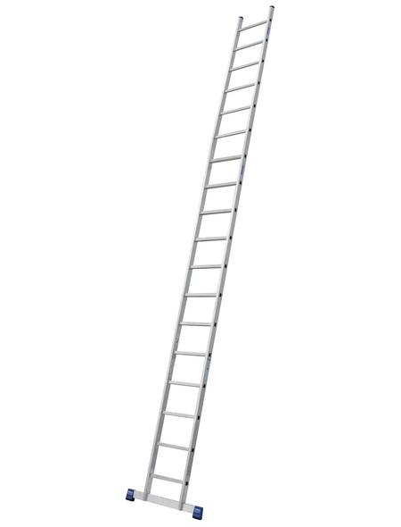 KRAUSE Anlegeleiter »STABILO«, Anzahl Sprossen 18