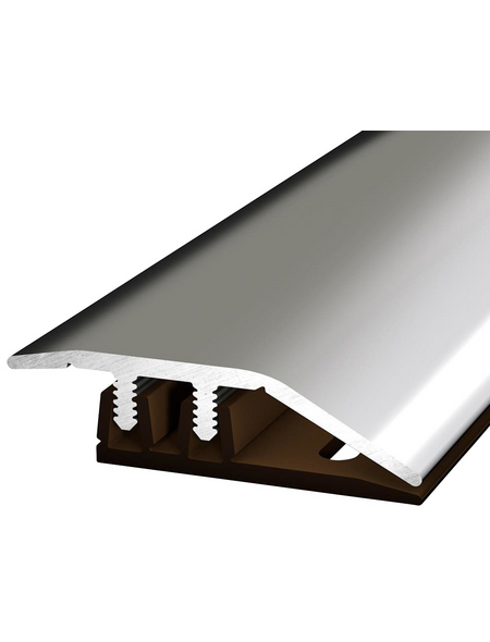 CARL PRINZ Anpassungsprofil »Profi-Design«, edelstahlfarben, BxLxH: 34 x 1000 x 6 mm