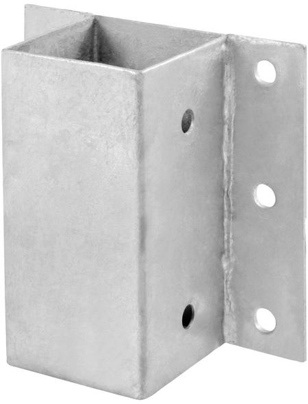 CONNEX Anschraubhülsen, Stahl, BxL: 120 x 150 mm