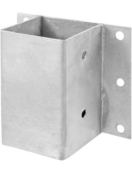CONNEX Anschraubhülsen, Stahl, BxL: 180 x 150 mm
