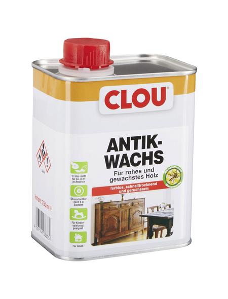 CLOU Antikwachs, 0,75 l, farblos