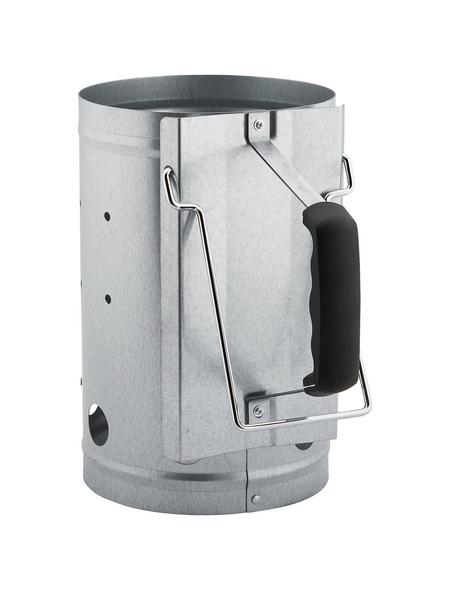 ACTIVA Anzündkamin, Starter-Set, inkl. 2 kg Grillbriketts und Öko-Anzünder