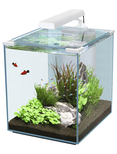 Aquarienset Nano Cubic 40 LED