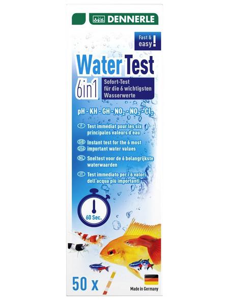 DENNERLE Aquaristik Wassertest, Water Test 6in1
