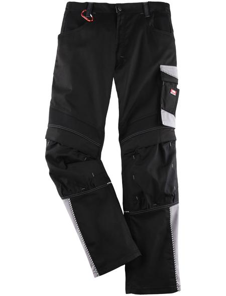 BULLSTAR Arbeitshose EVO Polyester/Baumwolle schwarz/grau Gr. 48