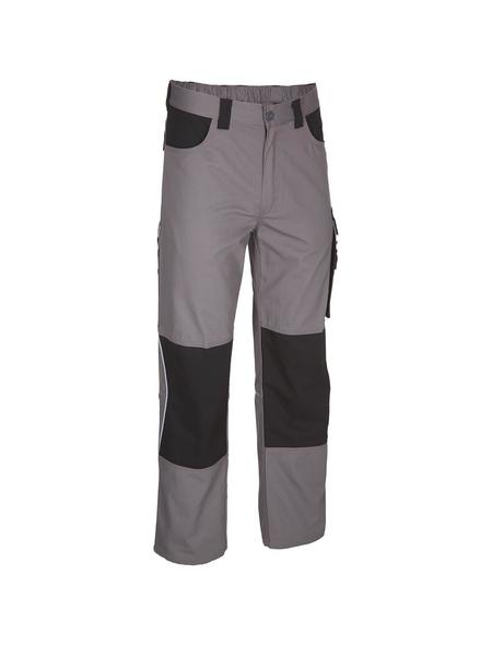 SAFETY AND MORE Arbeitshose EXTREME Polyester/Baumwolle grau/schwarz Gr. XL