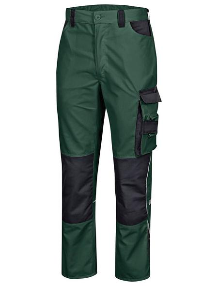 SAFETY AND MORE Arbeitshose EXTREME Polyester/Baumwolle grün/schwarz Gr. M