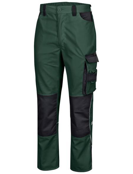 SAFETY AND MORE Arbeitshose EXTREME Polyester/Baumwolle grün/schwarz Gr. S