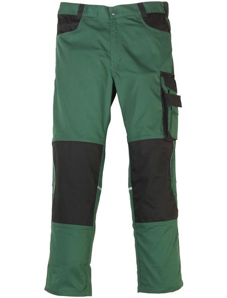 SAFETY AND MORE Arbeitshose EXTREME Polyester/Baumwolle grün/schwarz Gr. XXL