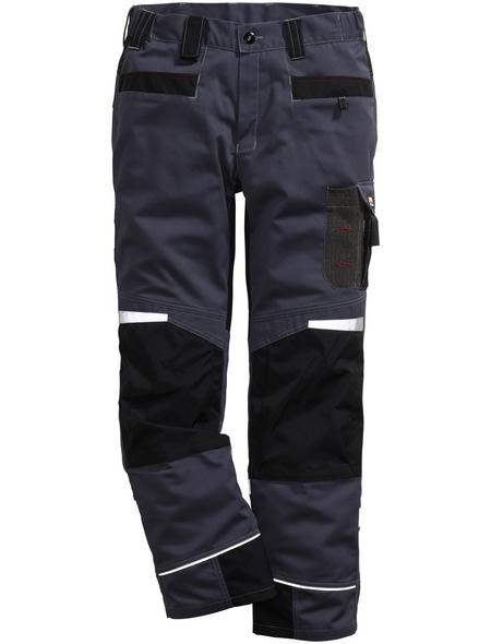 BULLSTAR Arbeitshose PERFORMANCE Polyester/Baumwolle anthrazit/schwarz Gr. 50