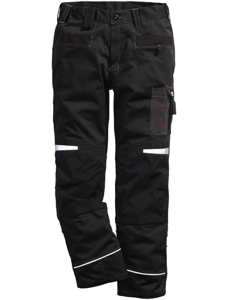 BULLSTAR Arbeitshose PERFORMANCE Polyester/Baumwolle schwarz Gr. 52