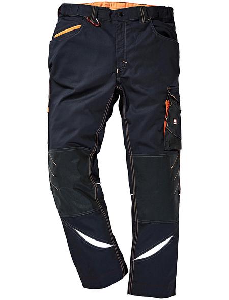 BULLSTAR Arbeitshose ULTRA Polyester/Baumwolle grau Gr. 54