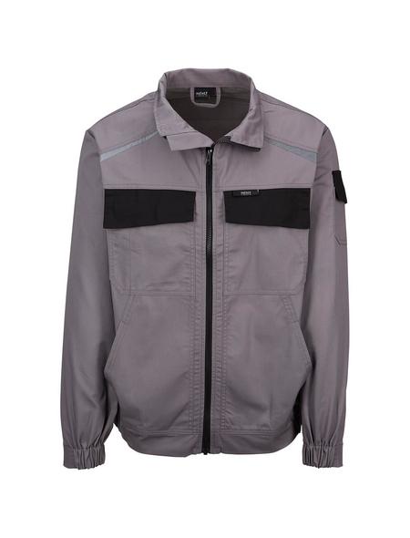 SAFETY AND MORE Arbeitsjacke »EXTREME«, grau/schwarz, Polyester/Baumwolle, Gr. XL