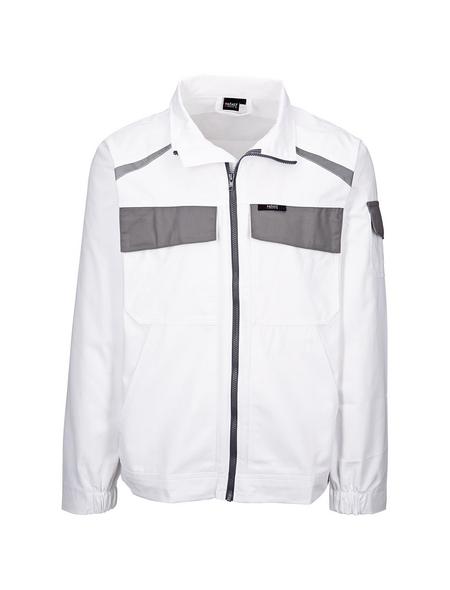SAFETY AND MORE Arbeitsjacke »EXTREME«, grau/weiß, Polyester/Baumwolle, Gr. XL