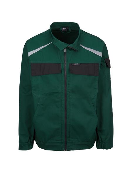 SAFETY AND MORE Arbeitsjacke »EXTREME«, grün/schwarz, Polyester/Baumwolle, Gr. XL