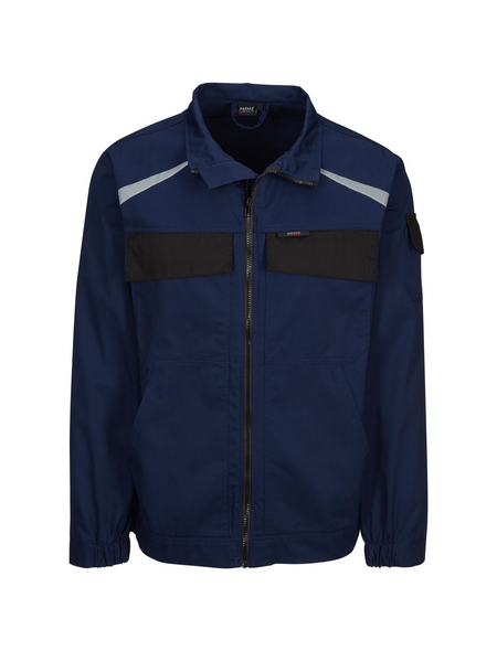 SAFETY AND MORE Arbeitsjacke »EXTREME«, marineblau/schwarz, Polyester/Baumwolle, Gr. M