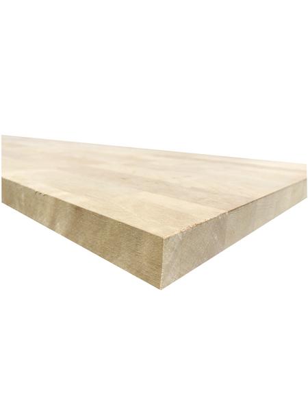 Jürgens Holzprodukte GmbH Arbeitsplatte, ahorn, Stärke: 27 mm