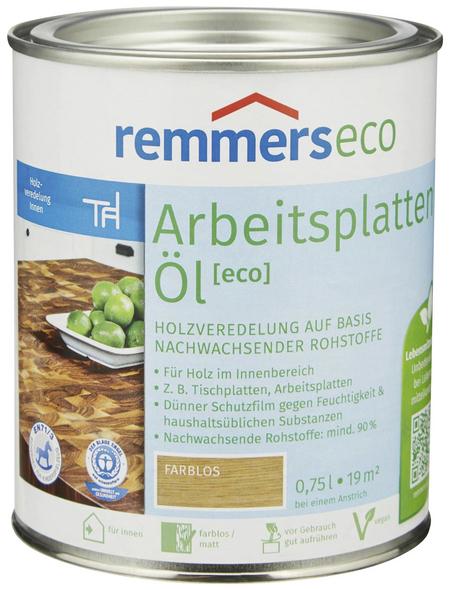 REMMERS Arbeitsplattenöl eco farblos 0,75 l