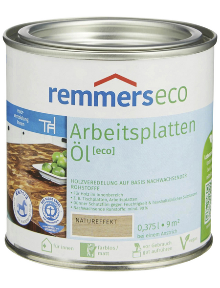 REMMERS Arbeitsplattenöl eco natureffekt 0,375 l