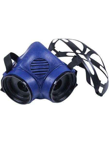 CONNEX Atemschutz-Halbmaske, Blau, Kunststoff