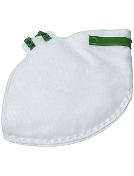 CONNEX Atemschutzmaske, Weiß, Stoff
