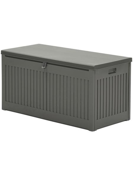 GARDEN IMPRESSIONS Aufbewahrung »Kissenboxen«, BxHxT: 51,3 x 54,7 x 109 cm, mittelgrau/dunkelgrau