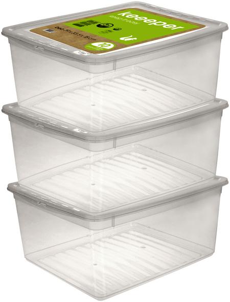 KEEEPER Aufbewahrungsbox »Bea«, BxHxL: 33,5 x 18 x 39 cm, Kunststoff