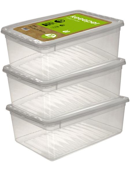 KEEEPER Aufbewahrungsbox »Bea«, BxHxL: 39 x 14 x 26,5 cm, Kunststoff