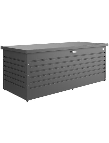 BIOHORT Aufbewahrungsbox, BxH: 181 x 71 cm, Stahlblech
