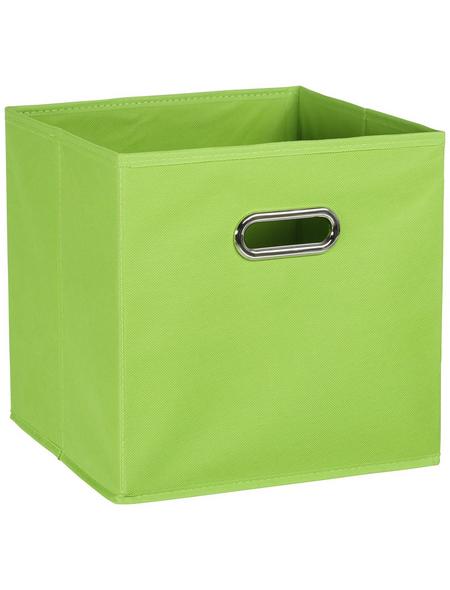 ZELLER Aufbewahrungsbox, BxHxL: 28 x 28 x 28 cm, Vlies/Metall